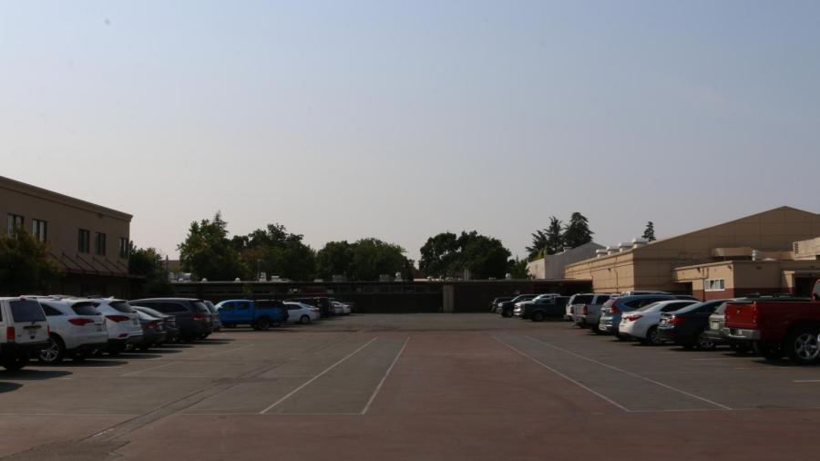 BRIEF: Construction reduces RHS campus parking