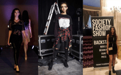 Senior launches professional career from the runway