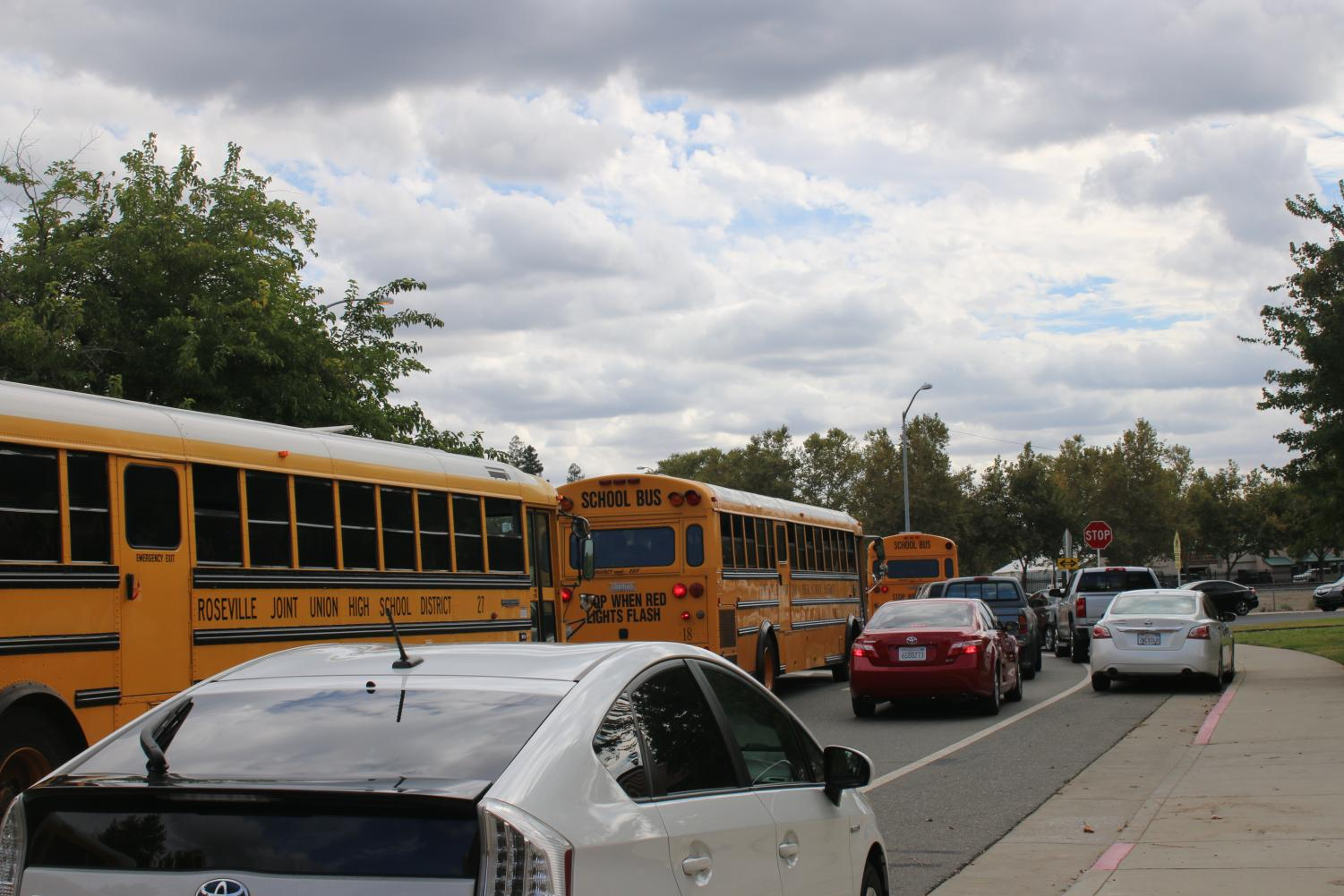 Transportation difficulties impede student arrival
