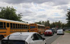 Traffic surrounding A High School after dismissal leads to students, parents and staff getting stuck in gridlock.