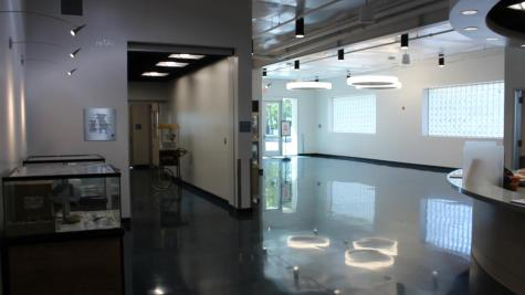 The lobby of the new Placer SPCA location in Roseville.