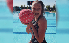 Senior sets new water polo record