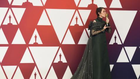Olivia Colman was awarded the Oscar for 'Best Actress in a Leading Role'.