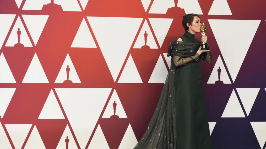 Olivia Colman was awarded the Oscar for Best Actress in a Leading Role.