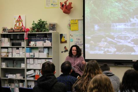 Creative writing class hosts annual poetry cafe