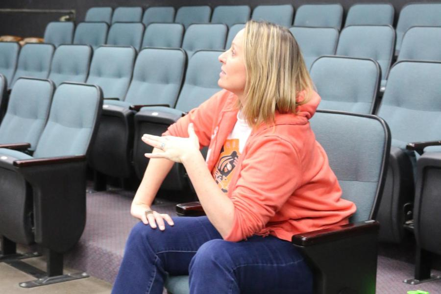 Jennifer Saigeon's past experiences in Hollywood lead her to realize her love for teaching theatre.