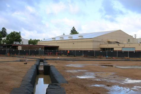 GALLERY: Construction of the Auxiliary Gym