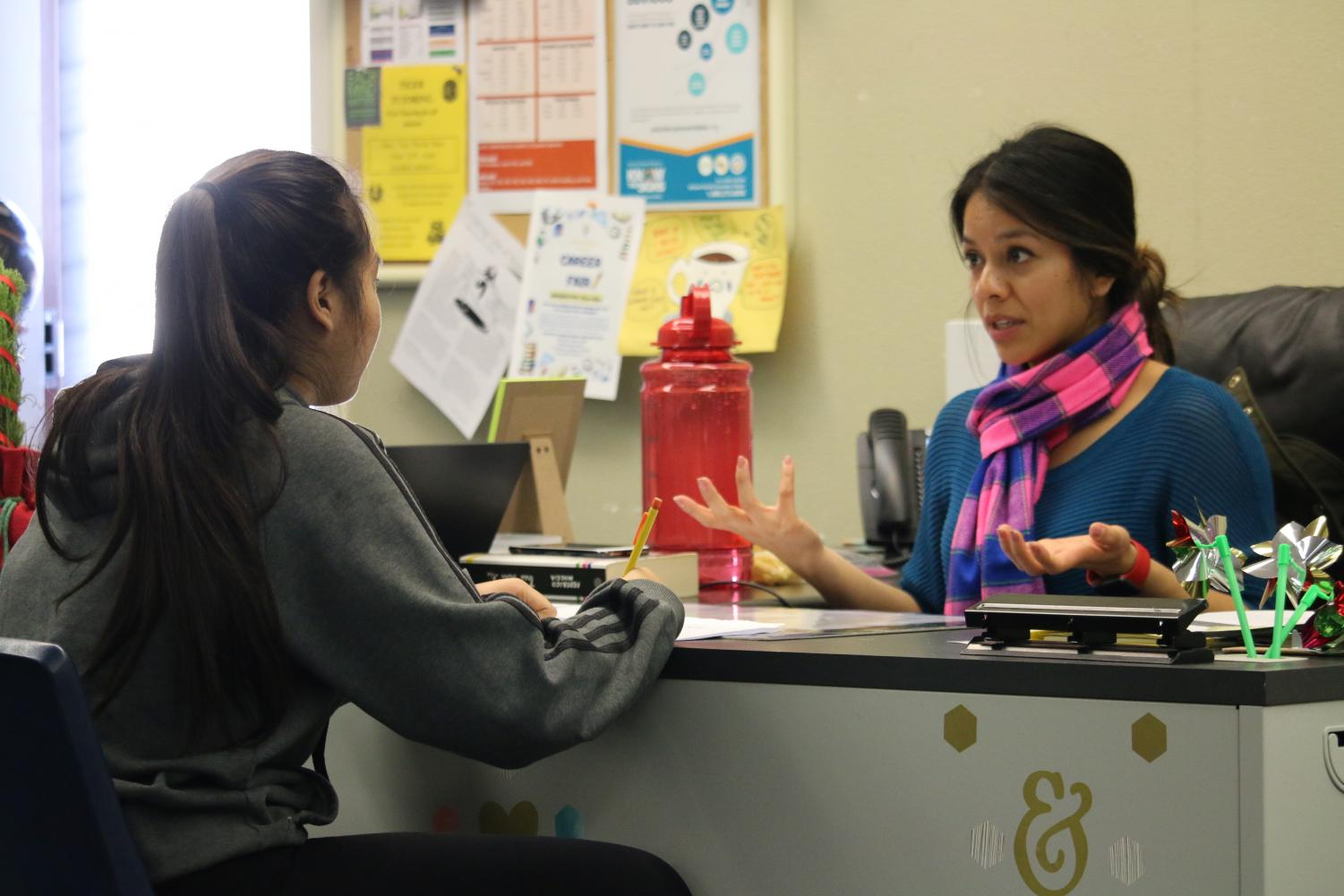 With the implementation of the Wellness Center at RHS, many students have begun seeking help. The Wellness Center is working to use data to identify additional students who need assistance.