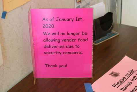 RHS bans food deliveries to campus