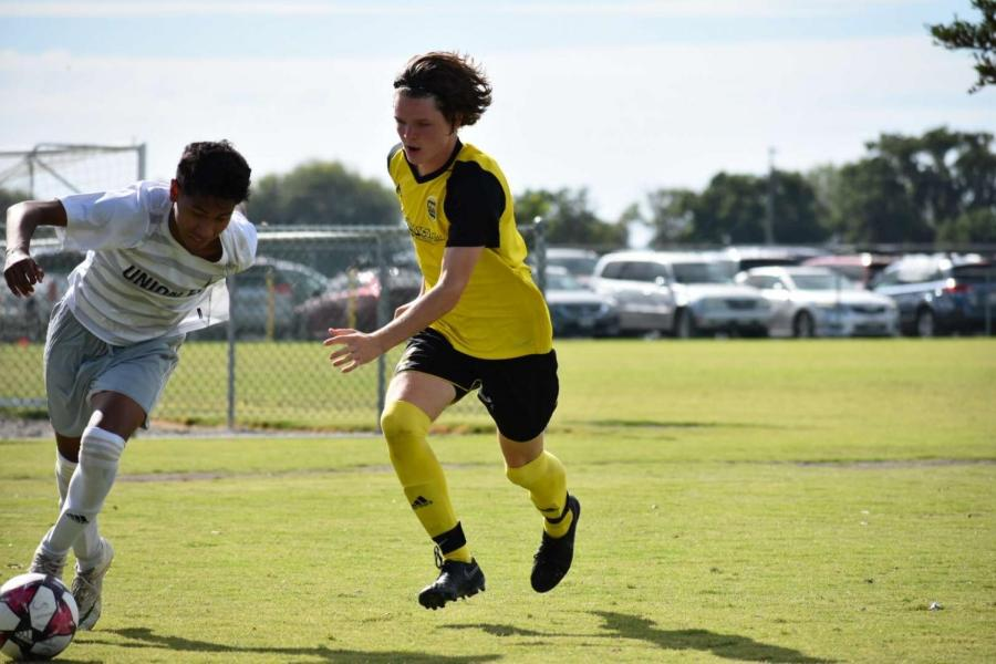 As a dangerous offensive player, playing forward Mann attacks often and finished the season with 7 goals.