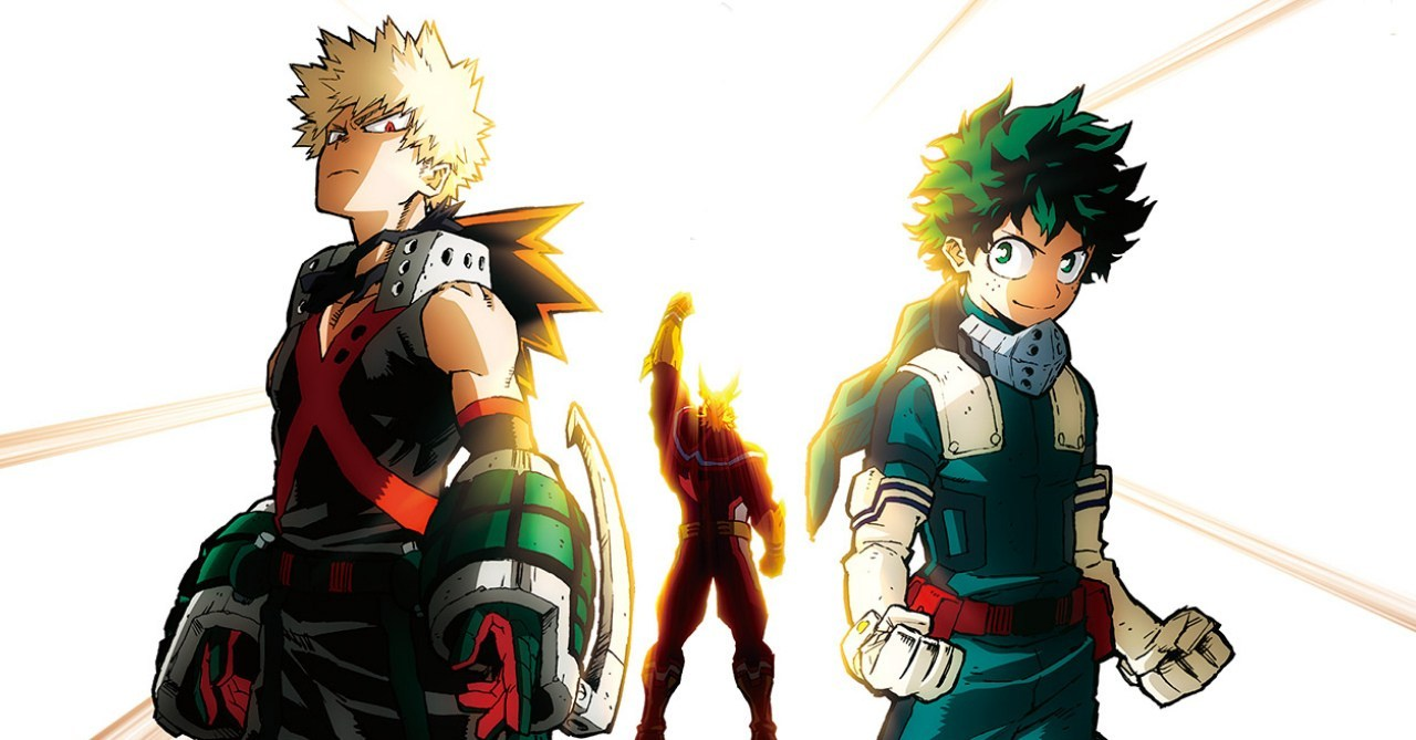 My Hero Academia Heroes Rising Detriot Smashes Box Office Eye Of The Tiger