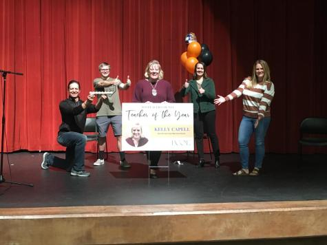 Kelly Capell selected Placer County teacher of the year