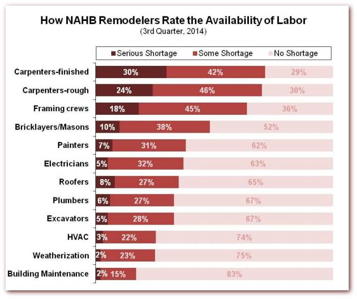 RMI labor availability