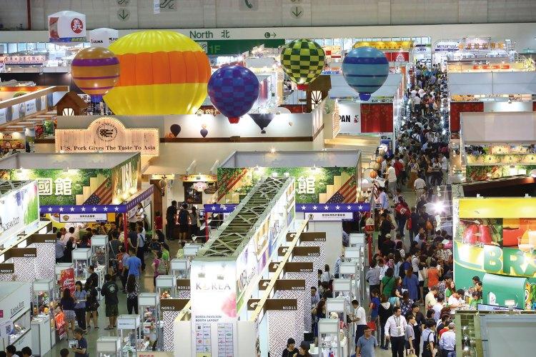 2017台北國際食品五展四天展期參觀者再創新高、人潮滿滿