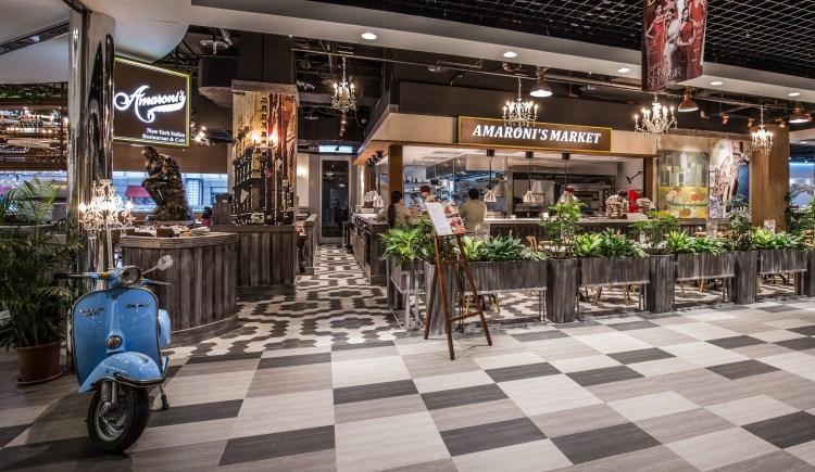 1998年起源於香港的Amaroni's,為一間以小義大利為主題的創意料理餐廳(圖由Amaroni's提供)