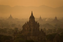 Sunrise from Shwe Nan Taw Temple