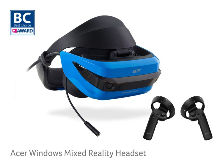 Acer Windows Mixed Reality Headset_BC Award 2018