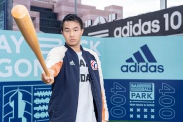 3. adidas簽約球星、MLB德州遊騎兵隊投手曾仁和出席「adidas 101棒球公園」開幕活動