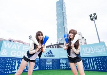 4. adidas 101球場化身棒球公園,邀球迷一同HOME RUN應援中華隊.jpg