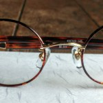 Japanese Handmade Titanium Eyeglass Frame on Washi Paper