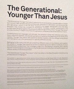 The Generational: Younger Than Jesus @ The New Museum