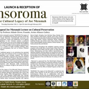 The Cultural Legacy of Joe Nkrumah