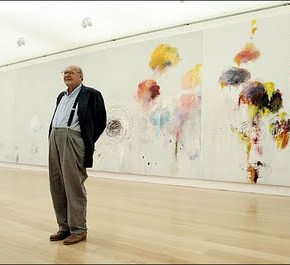 CY TWOMBLY : Abstract Expressionist
