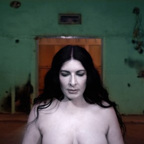A Portrait of Marina Abramovic , A 3D Film Installation by Matthu Placek, Still from film, 2013