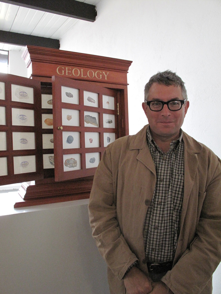 Mark Dion at FLORA ars+natura, Bogotá, Colombia, Photograph by Katy Hamer, 2013