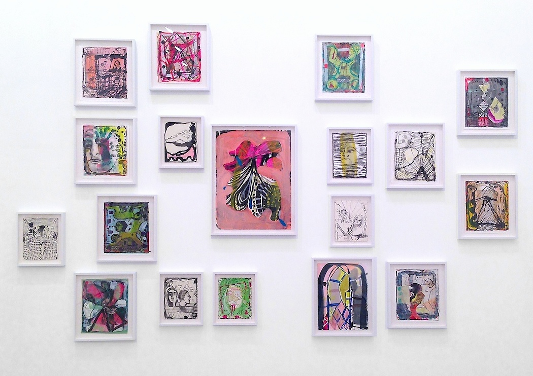 Emily Noelle Lambert, Curio Logic, Installation view  Lu Magnus Gallery, New York, 2013 Photograph by Katy Hamer