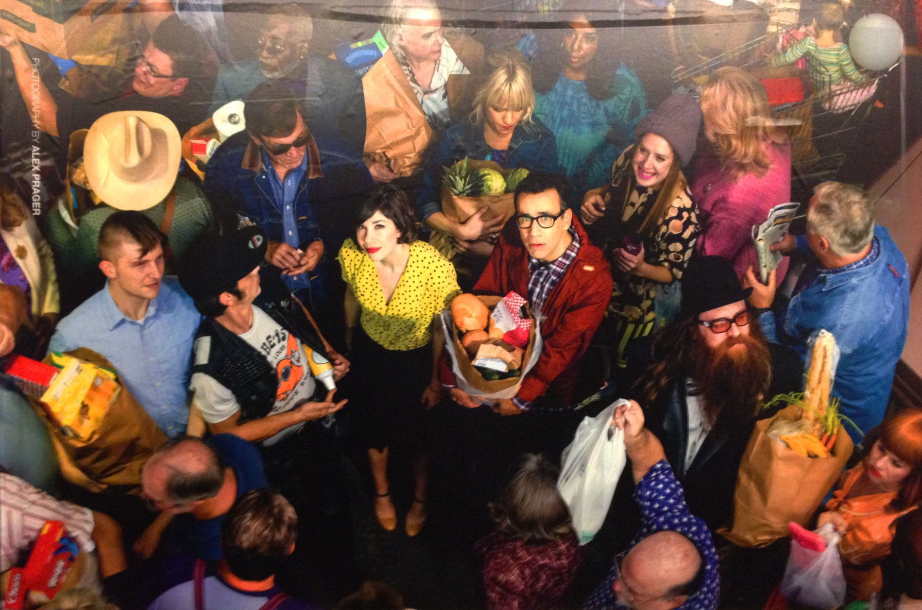 Portlandia subway advertisement, Photographed by Alex Prager, 2014