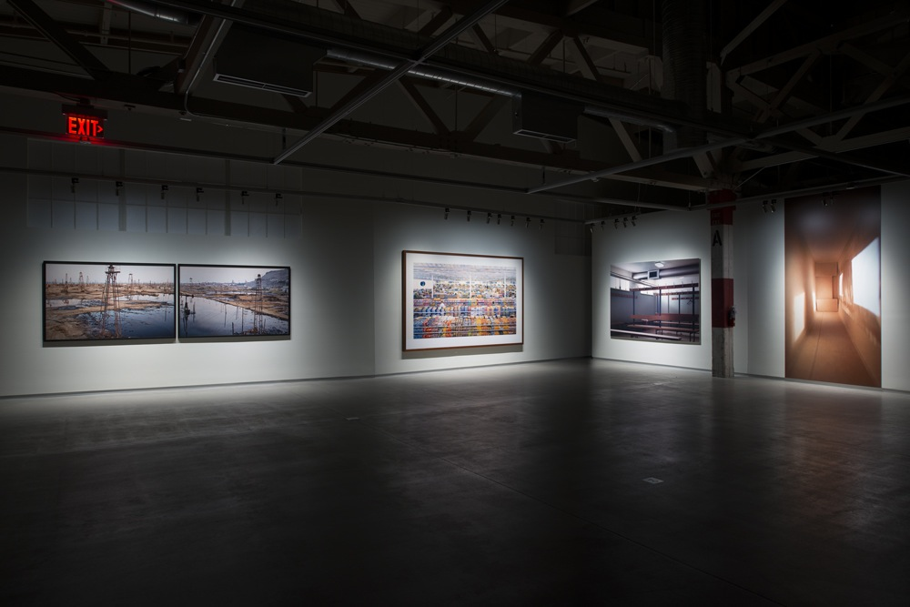Installation view (Koch/Burtynsky/Gursky/Demand), Courtesy of Pier 24 Photography, San Francisco, 2014