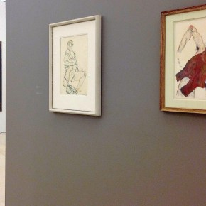 Schiele,Twombly and Basquiat at Nahmad Contemporary
