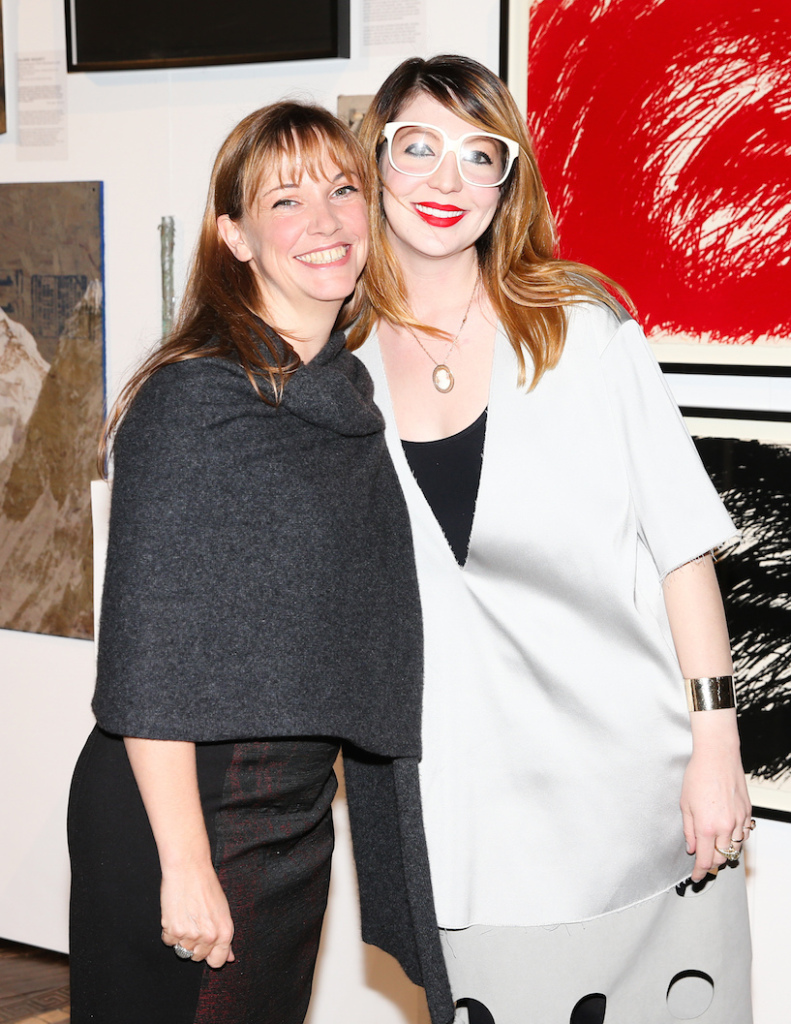 Kate Fowle and Bridget Finn at the ICI Annual Benefit and Auction, Cipriani, NY, 2014, Photograph by David X Prutting, BFAnyc
