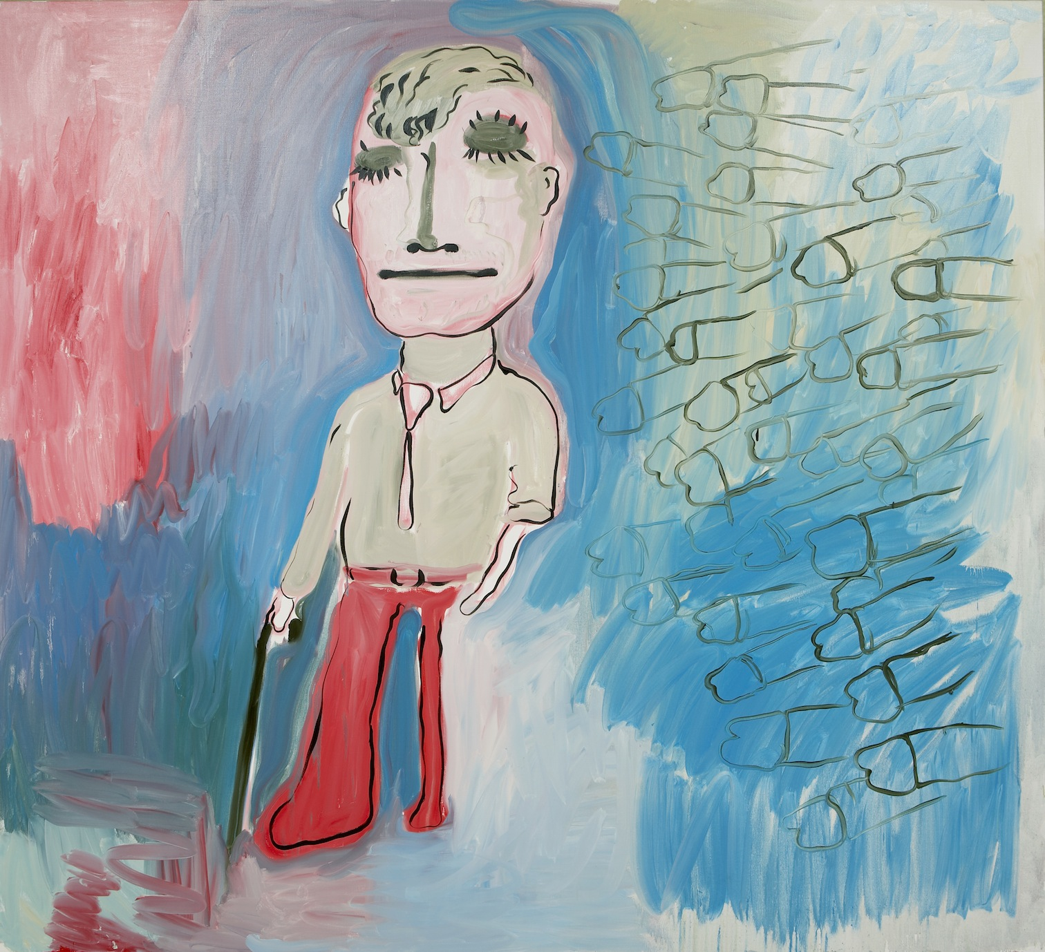 Bjarne Melgaard, Self Portrait, Image courtesy of the Munch Museum, Oslo, 2014