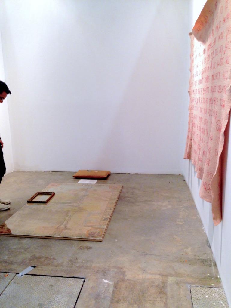 Daniel Santiago Salguero, Instituto De Vision, Colombia, Installation view, ARTBO, 2014, Photograph by Katy Hamer