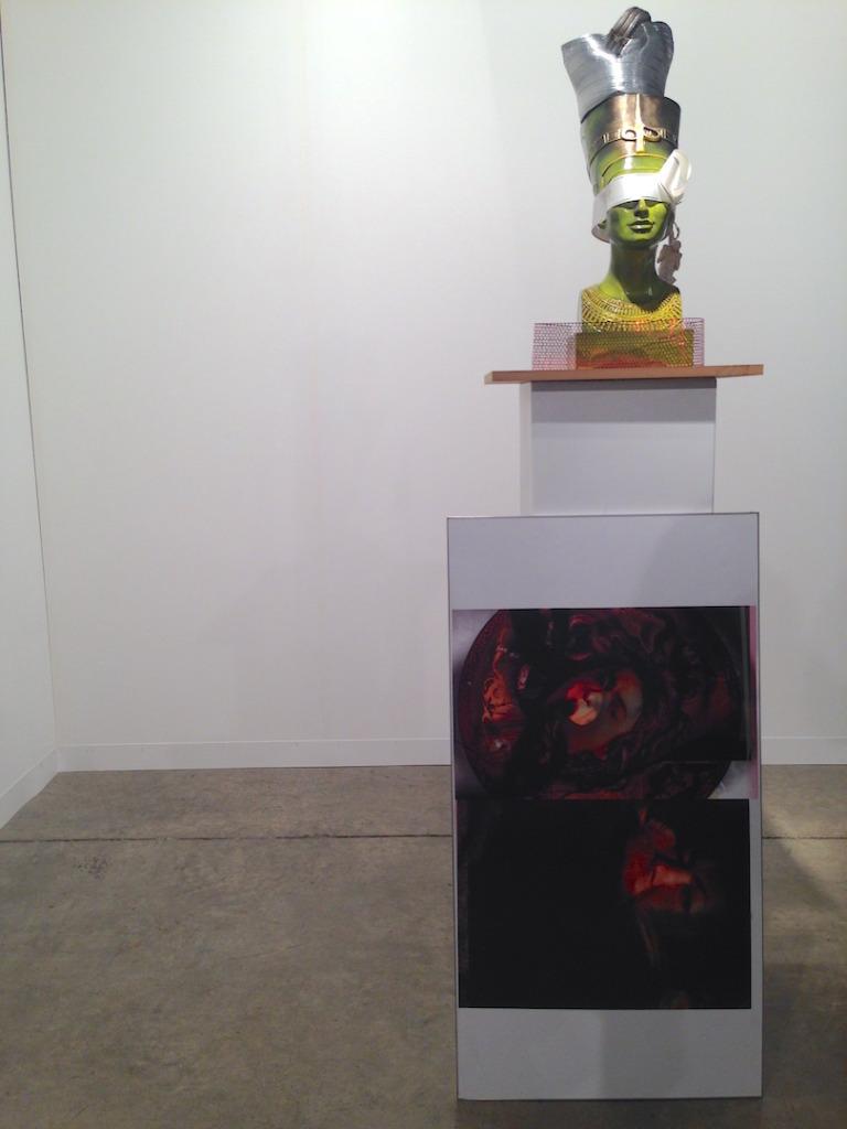 Isa Genzken, Installation view, Galerie neugerriemschneider, Berlin, Art Basel Miami Beach, Photo by Katy Hamer, 2014
