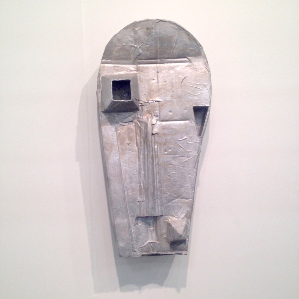 Michael Sailstorfer, M8, 2015, cast aluminum, Johann Konig, Berlin, Photograph by Katy Hamer, The Armory Show, 2015