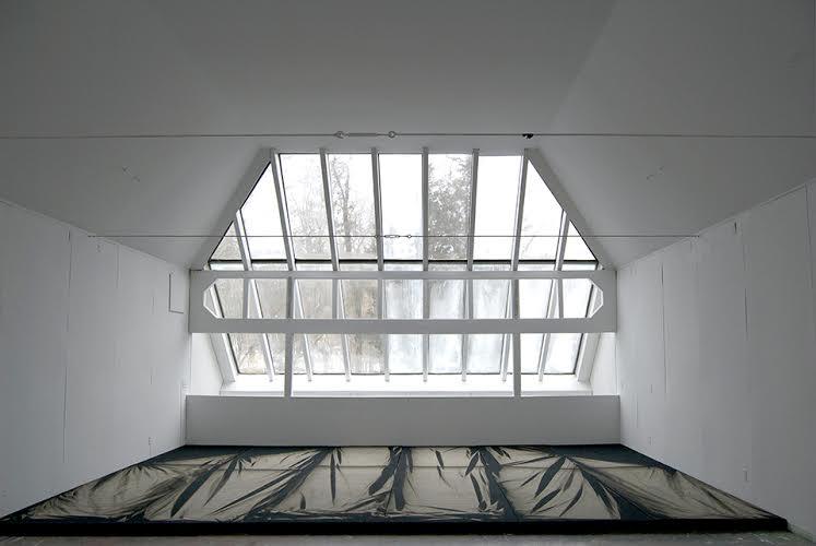 Chris Duncan, Skylight Series, Detail from Elaine de Kooning home, East Hampton, Photograph courtesy of Halsey McKay Gallery, 2015