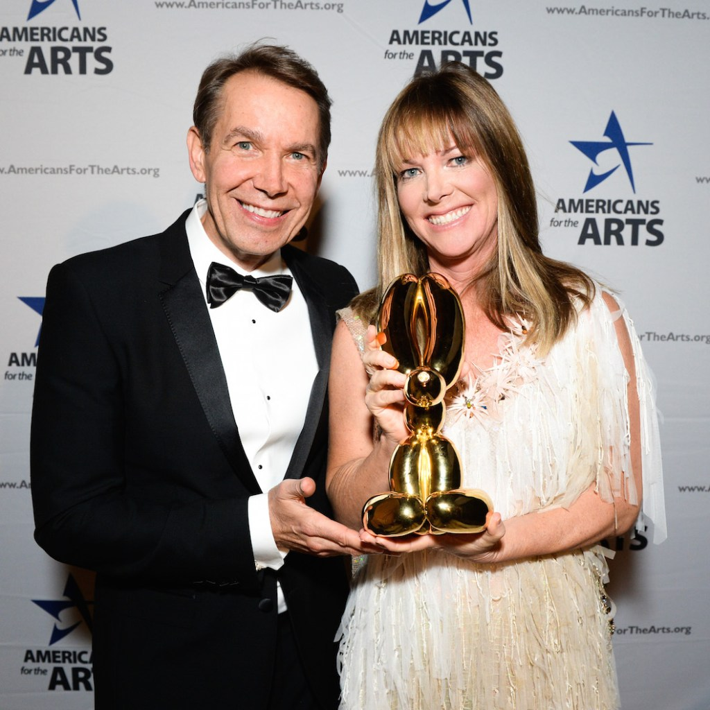Jeff Koons & Maria Bell, Americans for the Arts Awards, Photograph courtesy of BFA, 2015