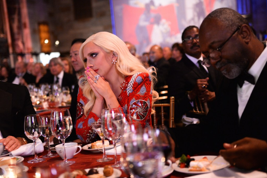 Lady Gaga, Americans for the Arts Awards, Cirpiani, NY, Photograph courtesy BFA, 2015
