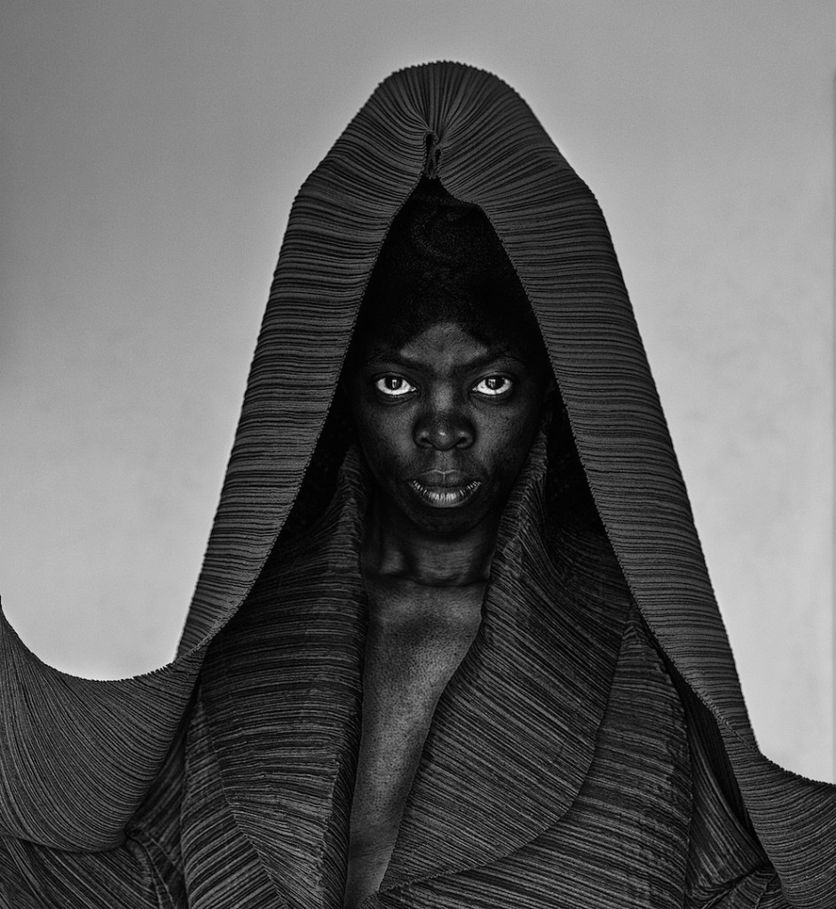 "Zanele Muholi ""Thembeka II (London)"" 2014, Gelatin silver print, 19.5 x 18 inches, Edition of 8, Armory Show 2016, Photo courtesy of Yancey Richardson Gallery"