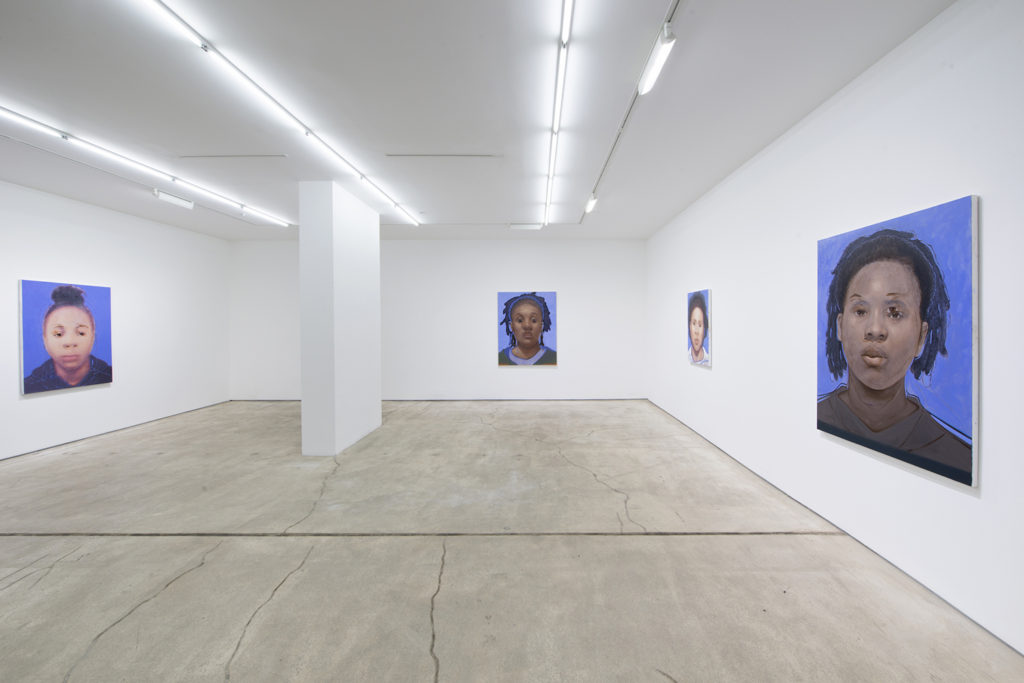Installation view. Titus Kaphar: Shifting Skies. Jack Shainman Gallery, New York. December 16, 2016 - January 28, 2017. Courtesy of Jack Shainman Gallery, New York, 2016
