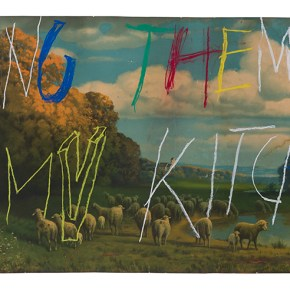 Philippe Vandenberg, No title, ca. 2007, Pastel on paper 52 x 120 cm / 20 1/2 x 47 1/4 in, © Estate Philippe Vandenberg, Courtesy the Estate and Hauser & Wirth, Photo: Joke Floreal