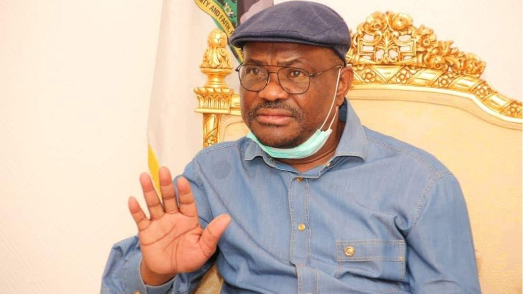 Govanor Nyesom Wike of Rivers State.