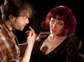 Alec Newman and Daisy Lewis in Bug