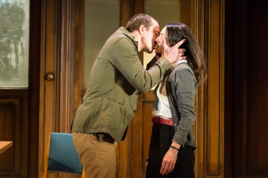 2015 West End cast - Matthew Spencer (Winston) and Janine Harouni (Julia). Photography in 1984 by Manuel Harlan (2).jpg