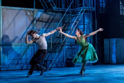 Daniel Collins (Dr Jekyll) and Rachel Muldoon (Dahlia), Jekyll & Hyde at The Old Vic. Photo by Manuel Harlan (3)