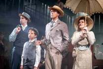 Jonathan Stewart, Ethan Quinn, Earl Carpenter and Anita Louise Combe in Ragtime. Photo: Annabel Vere