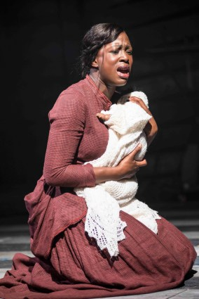 Jennifer Saayeng in Ragtime. Photo: Annabel Vere
